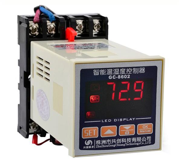 GC8602机柜温湿度控器