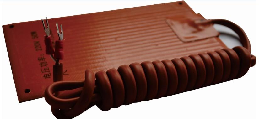 GJR型硅胶加热器的产品展示        公司拥有标准生产线3条,焊接机3台、超高压发生器4台、耐压仪1台、高精度直流稳压电源2台、微电脑仿真器2套、进口示波器2台、高精度四位万用表10块、自动切脚机2台、高温老化检测室2间等。高压带电显示器月生产能力达500-700台。主要服务于各省市供电局、电力设计院、电力企业。 产品采用微电脑技术,其中主要元器件全部采用美国和日本原装进口,为设备的安全运行提供保证。公司自主研发生产的高压带电显示(GC-8500系列)、智能温湿度监控器系列产品(GC-8600系列)