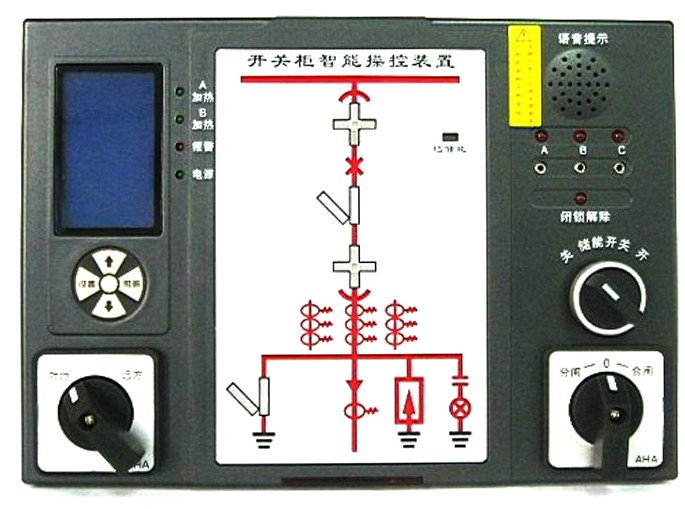 gc8800b开关柜智能操控的接线图            公司拥有标准生产线3条